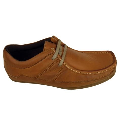 wallaby shoes base loafers shoes for waxy leather wallaby