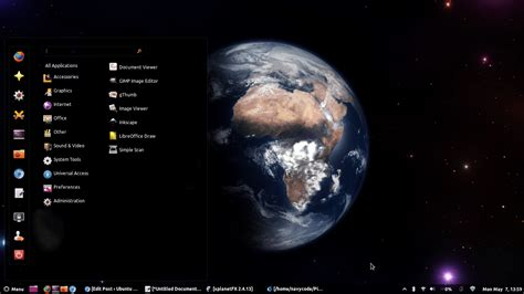 best pc for ubuntu xplanetfx cool real time and dynamic desktop wallpapers