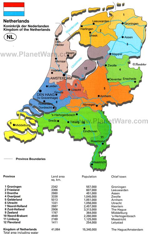 map of the netherlands obryadii00 map of netherlands