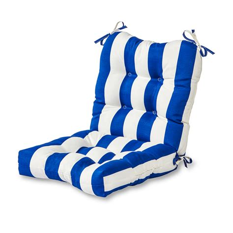 blue chair cushion kmart