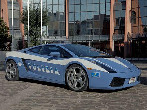 Polizia Lamborghini 2004 Lamborghini Gallardo Polizia Supercar