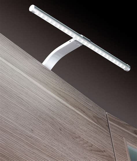 led cabinet lighting slim led cabinet light on swan neck bracket
