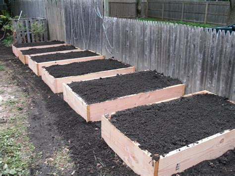 building a raised garden bed tagan s kitchen building raised garden beds