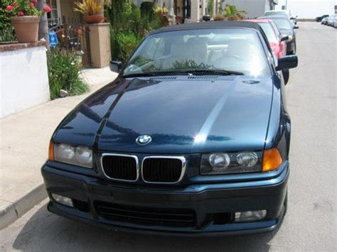 how to sell used cars 1997 bmw 8 series lane departure warning sell used 1997 bmw 328i ca base convertible 2 door 2 8l rare exclusive edition in long beach