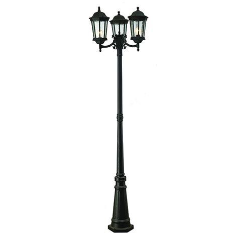 head outdoor lamp post rona
