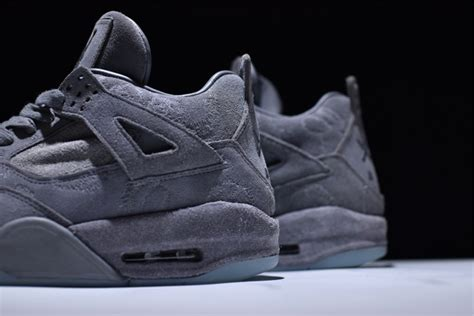 Kaws X Nike Air 4 Retro Quot Cool Grey Quot Glow In The Outsole Sole Look by Kaws X Nike Air 4 Retro Quot Cool Grey Quot Glow In The Outsole Sole Look