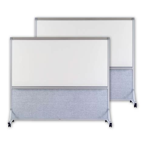 2 sided whiteboard room divider