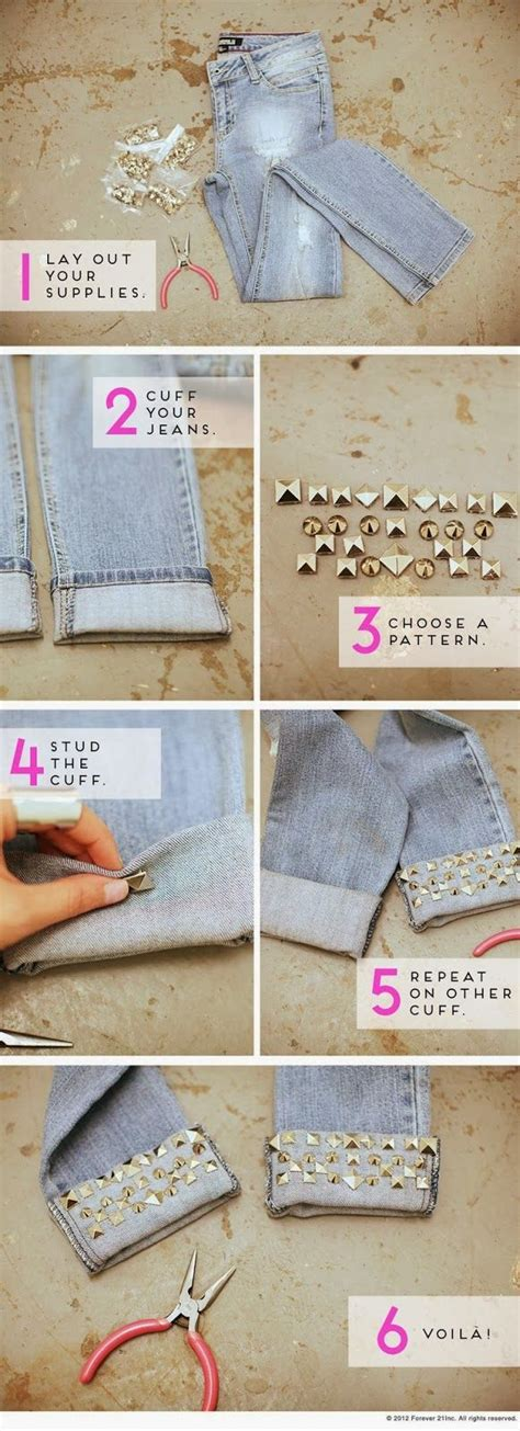 diy fashion craft ideas how to give your clothes a new look glam radar