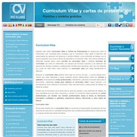 Plantillas De Curriculum Vitae Y Cartas De Presentacion Cv Pearltrees