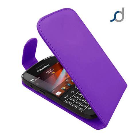blackberry bold 9900 leather flip purple