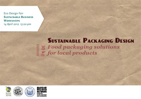 packaging design for sustainability where sustainability sustainable packaging for local food