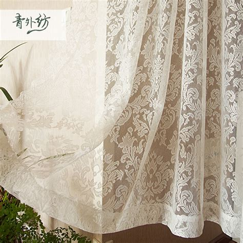 european lace curtains white european baroque style polyester lace finished