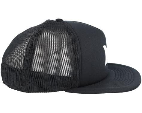 Snapback Hat Hurley Imbong 1 blocked 3 0 black snapback hurley caps hatstore co uk