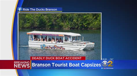 duck boat tour driver death toll now 17 in missouri duck boat accident 171 cbs chicago