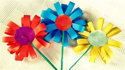 How To Make Paper Children - how to make paper flowers for