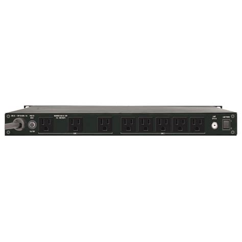 Furman Rack Mount Power by Furman Rack Mount Power Conditioner With Voltmeter Pl Plus C