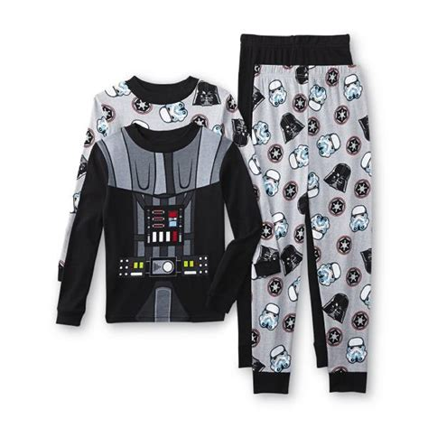 Premium Pajama Boy 4 wars boy s 4 pc pajama set shop your way shopping earn points on tools