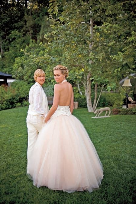 Degeneres Spoiled Bullocks Wedding Plans by Getting Hitched Show Me Yours Afterellen
