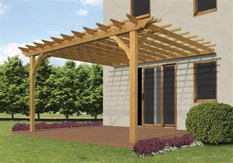 pergola attached to house yard pinterest