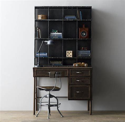 dark wood desk with hutch 17th century black castell 243 4 door sideboard and open hutch