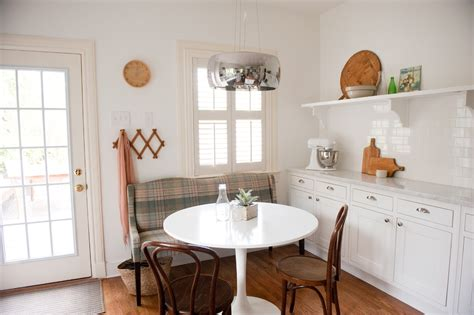 built in kitchen table ideas beautiful pedestal table base ideasin kitchen traditional