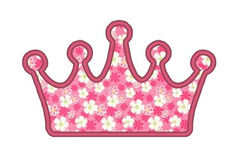 embroidery design crown simple crown applique embroidery design