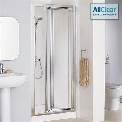 Lakes Classic Framed Bi Fold Shower Door 1000mm Lk1b100 05 Lakes Shower Doors