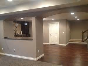 finished basement sherwin williams mega griege home decor ideas paint colors