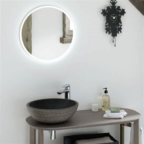 miroir salle de bain lumineux 3147 miroir salle de bain lumineux rond time to bath