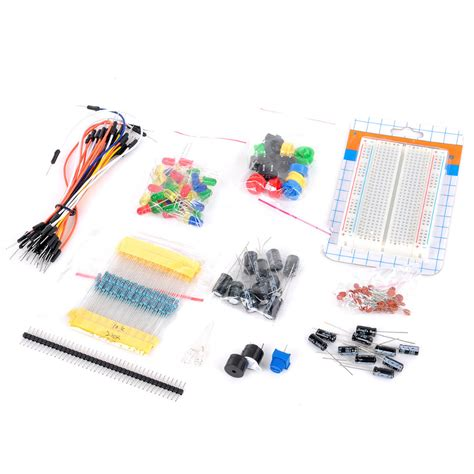 where to buy resistors and capacitors electronics resistors capacitors switches bread board set for arduino jpg