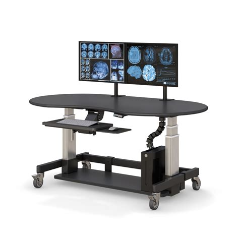Modern Height Adjustable Standing Computer Desk Ergonomic Height Adjustable Desk