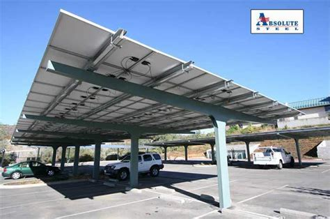 Canopies Car Ports by Solar Carports And Shade Canopies