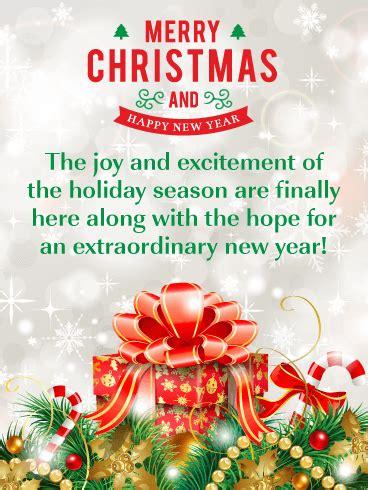 sensational gift box merry christmas  happy  year card birthday greeting cards  davia