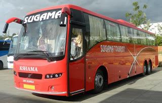Sleeper Buses From Bangalore To Mangalore by New Multi Axle Volvo From Sugama Tourists Bangalore