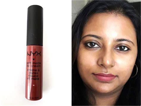 nyx soft matte lip india nyx soft matte lip budapest review swatches