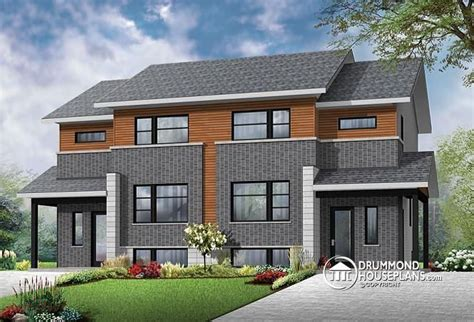 design house units contemporary 4 unit apartment house plan multi family