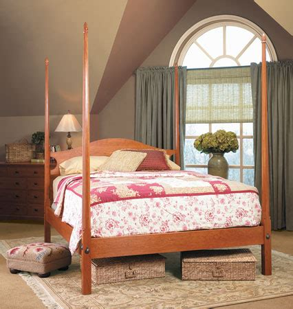 pencil post bed woodsmith plans