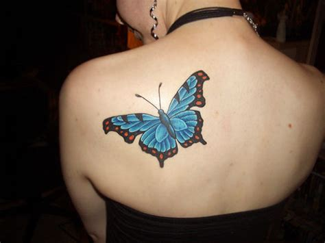 45 Beautiful Exles Of Butterfly Inspired Tattoo Designs Butterfly Tattoos On Shoulder Blade