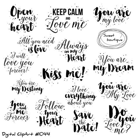 Wedding Quotes Clipart by Clipart Quote Valentines Day Clipart Quotes