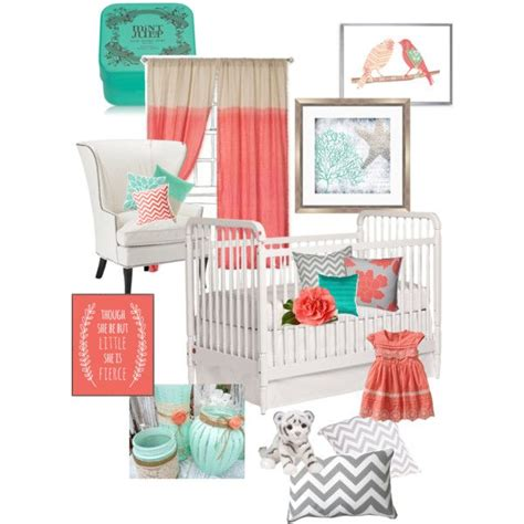 mint and coral home decor baby room color inspiration mint green coral pink and