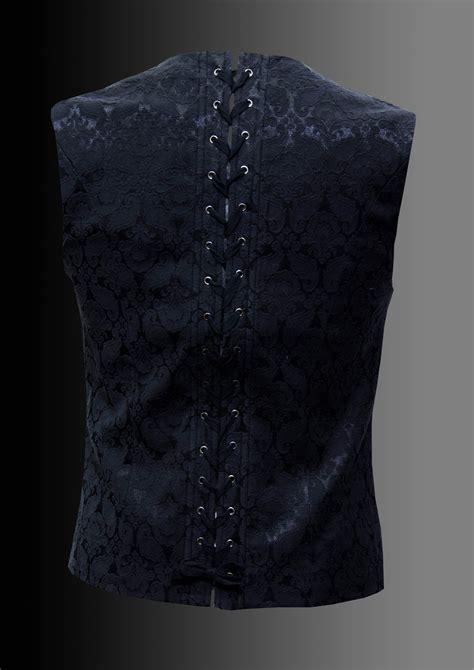 pattern waistcoat military black pattern waistcoat