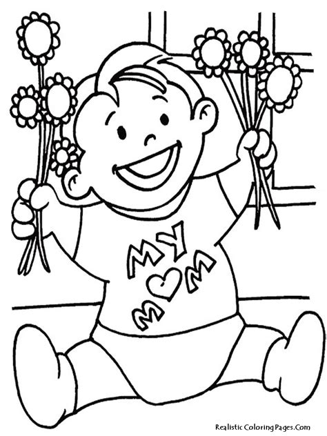 s day printable coloring pages printable mothers day coloring pages realistic coloring