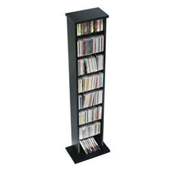 Dvd Holder Stand 51 Quot Slim Cd Dvd Wall Media Storage Rack In Black Bma 0160