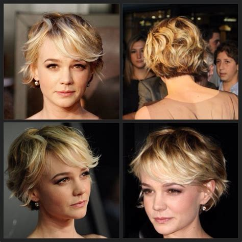 hairstyles for growing out short wavy hair just beautiful short and sassy pinterest