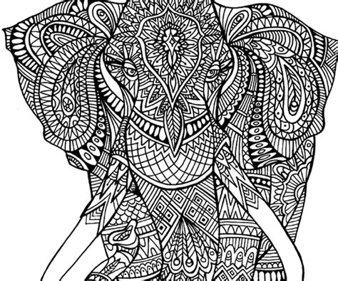 elephant pattern coloring pages adult coloring pages elephant patterns printable adult