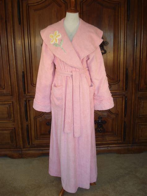 chenille robes vintage 1940 s chenille robe
