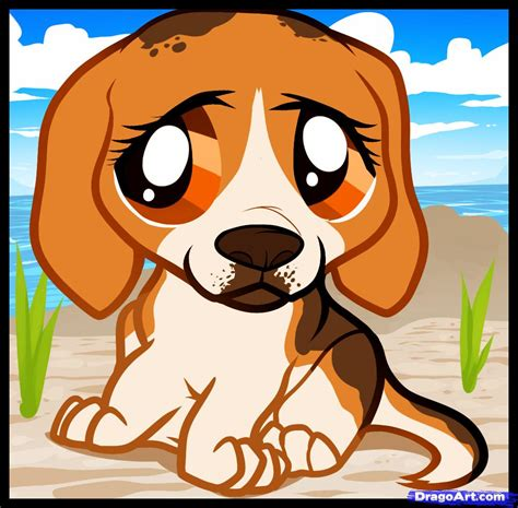 how to a beagle how to draw a beagle puppy beagle puppy step by step pets animals free