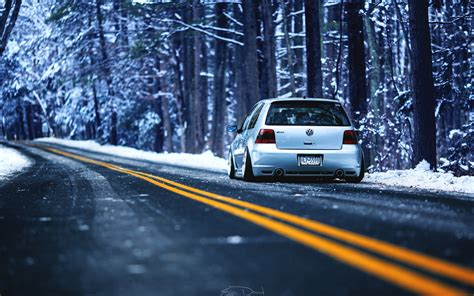 volkswagen winter volkswagen golf gti winter wallpaper hdwallpaperfx