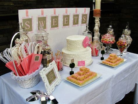 Come With Me Baby Shower Menu Dessert by Chic And Baby Shower Ideas Shabby Chic Baby