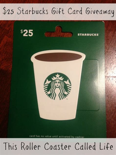 Discount On Starbucks Gift Card - starbucks gift card 25
